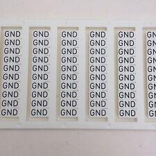 Custom Printed Dinkle DIN Rail Terminal Block Marking Labels TM27W DK4N 120qty