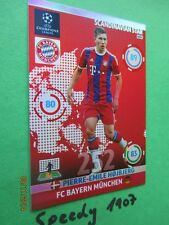 Champions League 2015 Scandinavian Star höjbjerg Baviera Panini Adrenalyn 14 15