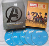 AVENGERS 1-4 [Blu-ray Box Set] The Complete 4-Movie Marvel Collection Endgame