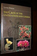 Cacti United States & Canada - Cactaceae Botany Desert Plants Opuntia Succulents