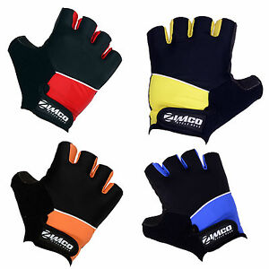 Zimco Elite Cycling Gloves Bike Gloves Max Grip Comfortable Mitts Racing Gloves