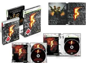 RESIDENT EVIL 5 STEELBOX  Limited Edition