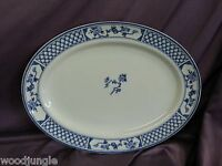 """JOHNSON BROS ENGLAND THE EXETER OVAL PLATTER 14.5"""" SERVING BROTHERS"""