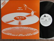 NOLANS/KOOL MOE DEE ALFA FOR DJ's Oct.1989 JAPAN PROMO-ONLY LP ALDJ-1022