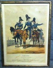 German Oldenburg Horse Soldiers Military Print