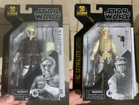 Star Wars Black Series Archive Luke Skywalker & Han Solo Hoth Lucas New In Hand