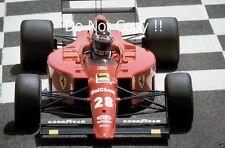 Gerhard Berger Ferrari 640 French Grand Prix 1989 Photograph