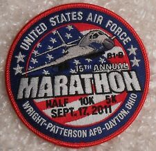USAF Wright-Patterson AFB Marathon Patch 2011 Dayton OH United States Air Force