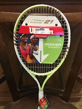 New Wilson 21in tennis racquet. Wilson Venus and Serena racket. BRAND NEW!