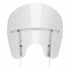 Clear Windscreen Windshield Fit For Harley Heritage Softail Classic FLSS 00-20