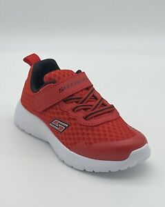 Skechers Dynamight Hyper Torque - Red - Little Boy's Shoes Size 10