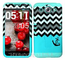 KoolKase Hybrid Silicone Cover Case for LG Optimus G Pro E980 CHEVRON ANCHOR 03