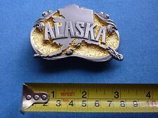 GOLD RUSH ALASKA PRUDHOE BAY PIPELINE BELT BUCKLE OIL ICE ROAD TRUCKERS AWARD