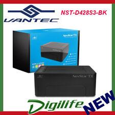 Vantec NexStar 2.5''/3.5'' 2 Bay HDD Docking Station USB 3.0 w/ USAP support