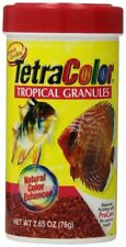 TETRA COLOR BITS TROPICAL GRANULES 2.65 OZ FISH FOOD PELLETS.  FREE SHIP TO USA