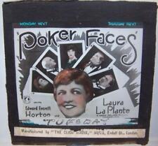 Magic Lantern Film Advert  - Poker Faces