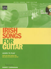 Irish Songs for Guitar TAB Music Book/CD Learn to Play Popular Songs & Ballads