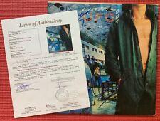 "JSA LOA signed UFO x 4 ""LIGHTS OUT"" autographed ALBUM Michael Schenker SCORPIONS"