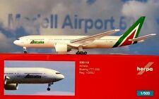 Herpa Wings 1:500 Boeing 777-200  Alitalia  I-DISU 530118