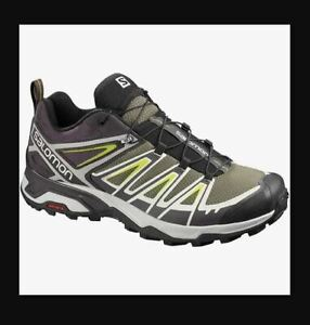 Salomon Herren Multifunktionsschuh X Ultra 3 burnt olive/shale Gr. 8,5-42 2/3