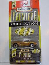 Matchbox Premiere Collezione Serie 1.8m62 Corvette Oro