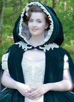 M7886 Sewing Pattern Costume Renaissance Tudor Lined Gathered to Neckline Cape