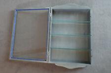 Setzkasten Sammelvitrine ca: 50 x 35 cm Rückwand leicht beschädigt mit Glasböden