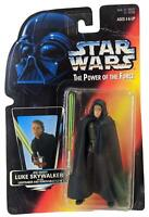 Star Wars Power of the Force Orange Luke Skywalker with Removable Cloak Figure