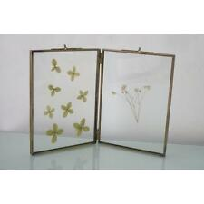 Brass Antique Style Double Picture Frames Ebay