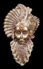 Venezianische Maske - Charm Flower - Veronese Wand-Deko Karneval Gesicht