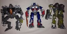 3 Transformers Dark of the Moon Robo Fighters Optimus Prime Megatron Starscream