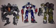 3 Transformers Dark of the Moon Robo Fighters Optimus Prime Megatron Starscream