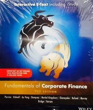Fundamentals of Corporate Finance 2E Australasian Wiley E-text+istudy Version 2