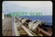 Original Slide, Aboard the Cunard Line Ocean Liner RMS Queen Elizabeth 1947, F