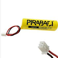 PACK PILE BATTERIE 18650 RECHARGEABLE LI-ION 3.7V 2200MAH AVEC CONNECTEUR PCB