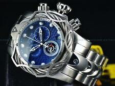 Invicta Men 52mm Reserve VENOM Bolt Hybrid Cobalt Blue Swiss ETA Chrono SS Watch