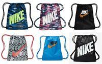 Nike Boys Girls Gym Sack Bag School PE Football Training Gymbag Gymsack Sports