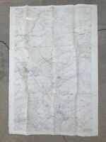 Rare WWI (1918) SECRET Cuisy French & AEF Meuse Argonne German Trench Map Relic
