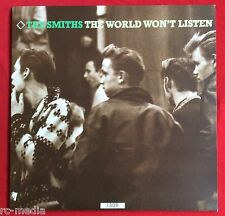 """THE SMITHS -The World Won't Listen- Rare UK 2 x 10"""" LP Limited Numbered Edition"""