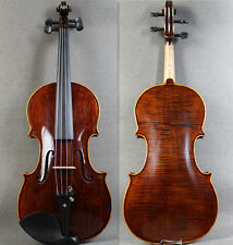 Special Edition - 4/4 Brown Hand-Made Antique Violin+Bow +Rosin +Case <Limited>