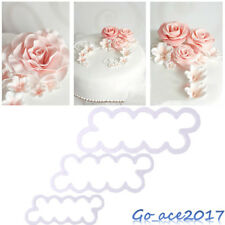 3D Rose Flower Baking Cutter Mould Fondant Cake Decorating Icing Sugarcraft Tool