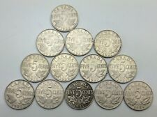 Full Date Canada Set Excluding 26 Near Far 25 Five 5 Cents Nickel Coin C828