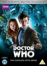 DOCTOR WHO Complete Series 5 SEALED/NEW dvds (dr.) 5th fifth season five BBC