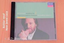 Bruckner Anton - Symphonie n°2 - Riccardo Chailly - Boitier neuf - CD Decca