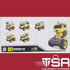Transforming Remote Control Construction Truck Toy with Electric Drill