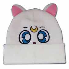 NEW Sailor Moon * Artemis Beanie Hat * Cat Kitten Cloth Knit Cap Tuque NWT Anime