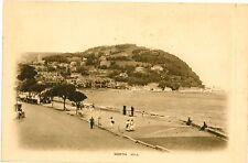 MINEHEAD North Hill Quay Ship SOMERSET Vintage Vignette Letter PC c1910