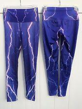 OM Shanti Yoga Pants - Minor imperfections - New - PURPLE LIGHTNING