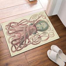 Door Mat Bathroom Rug Bedtoom Carpet Bath Mats Rug Non-Slip Horror octopus