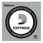 D'Addario EXPPB020 Phosphor Bronze Wound Acoustic, .020 gauge, Single String for sale